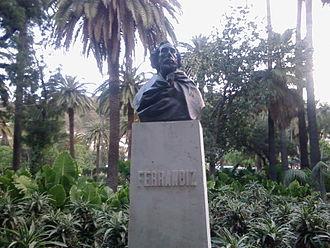 Bernardo Ferrándiz Bádenes - Image: Monumento a Ferrándiz