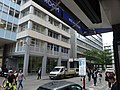 Moorfields view north from Moorgate station entrance 02.jpg