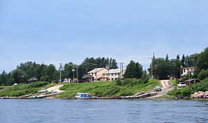 Moosonee - Waterfront of Moosonee