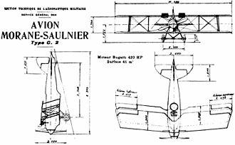 Morane-Saulnier AN - Morane Saulnier AN drawing