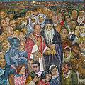 Mosaic dominus flevit Paul VI.jpg