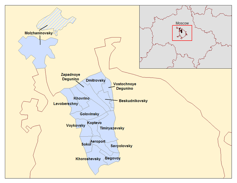 File:Moscow Northern Okrug districts.png