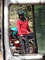 Moto-Driver Waits for Customer - Kabgayi - Outside Muhanga-Gitarama - Rwanda - 01.jpg