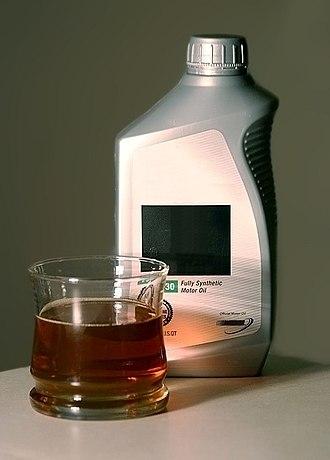 Motor oil - Motor oil sample