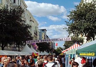 Motzstraße - Lesbisch-schwules Stadtfest at Motzstrasse