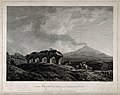 Mount Etna and the nearby countryside. Engraving by W. Byrne Wellcome V0025187.jpg