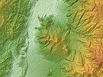 Mount Takayashiro Relief Map, SRTM-1.jpg