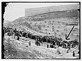 Mount of Olives- Jewish gathering at Tomb of Zacharieh, Kebron (Kidron) Valley.jpg