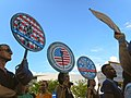 Moveon.org Anti Trump Family Separation Protests - Miami Dade College, Miami Florida 07.jpg