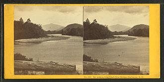 Shelburne, New Hampshire - Mt. Adams, from Lead-Mine Bridge, Shelburne, N.H.
