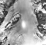 Muir Glacier, icefield northwest branch of tidewater glacier, September 17, 1968 (GLACIERS 5694).jpg