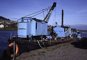 Muirtown Basin, Inverness - dredger Fairway - geograph.org.uk - 750567.jpg
