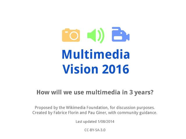 Multimedia Vision Slides