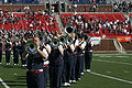 Mustang Band One of Many Uniform Combinations, November 2005.jpg
