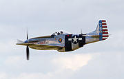 Mustang P-51D Fragile but Agile 3 (5927417470).jpg
