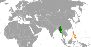 Myanmar–Philippines relations Diplomatic relations between the Republic of the Union of Myanmar and the Republic of the Philippines