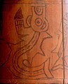 Mythical Killer Whale on a Nazca reed container.jpg