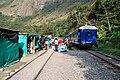 Nádraží u hydroelektrárny - směr Machu Picchu - panoramio.jpg