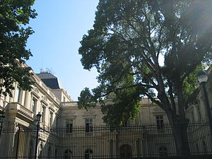 Gard - Prefecture building of the Gard department, in Nîmes