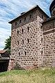 Nürnberg, Stadtbefestigung, Spittlertor, Waffenhof, Feldseite 20170616 002.jpg