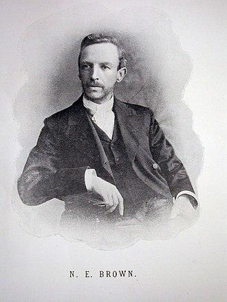 N. E. Brown - Portrait of N. E. Brown