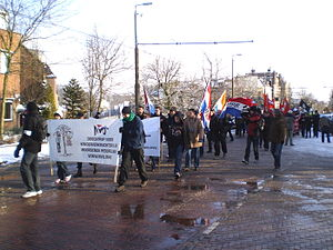 Dutch Peoples-Union - NVU march in 2010