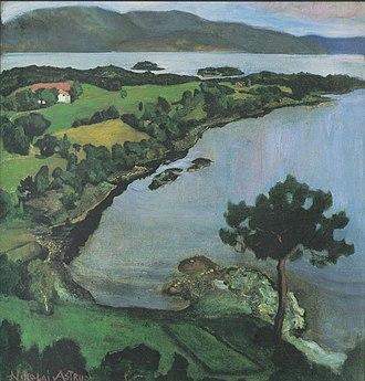 Nikolai Astrup - Image: N Astrup Svanøybukta