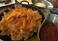 Nachos with salsa sauce and mayonnaise.jpg