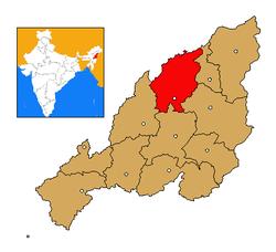 Nagaland Mokokchung district map.png