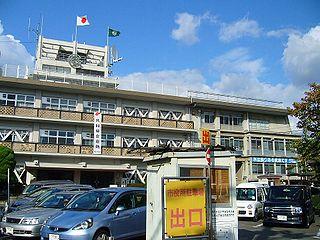 Nagaokakyō, Kyoto City in Kansai, Japan