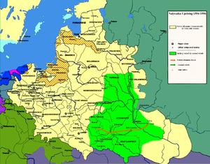 Nalyvaiko Uprising - Nalyvaiko Uprising 1594-1596