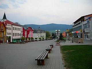 Námestovo Town in Slovakia