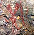 Nanabozho pictograph, Mazinaw Rock.jpg