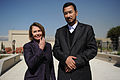 Nancy Pelosi and Abdul Rauf Ibrahimi in 2011.jpg