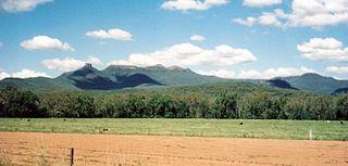 Nandewar Range mountains in Australia