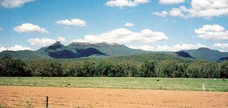 Mount Kaputar National Park - Mount Kaputar and the Nandewar Range