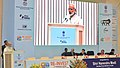 Narendra Modi addressing at the Re-Invest 2015 India's thrust on Renewable Energy an effort to ensure universal energy access for our poor, in New Delhi. The Minister of State (Independent Charge) for Power.jpg