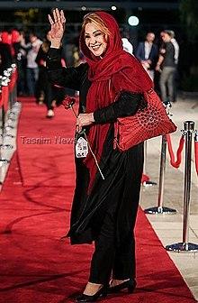 Nasrin Moghanloo at 16th Hafez Awards.jpg