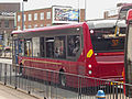 National Express West Midlands - 37 bus - Digbeth (opposite Birmingham Coach Station and The Dubliner) (18986850754).jpg