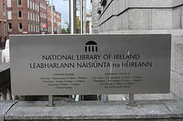 National Library of Ireland, Dublin, October 2010 (03).JPG