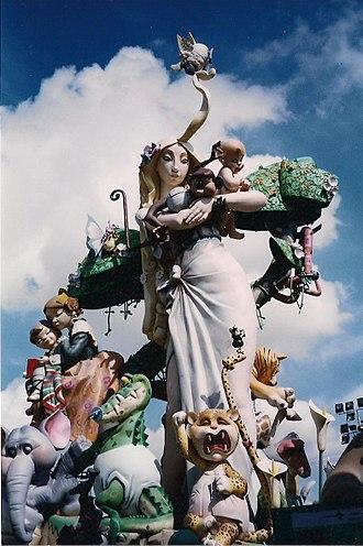 Falles - Falla Na Jordana 2003 (1st prize)