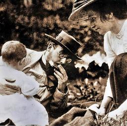 Nauen heinrich malachowski marie + nora 1910