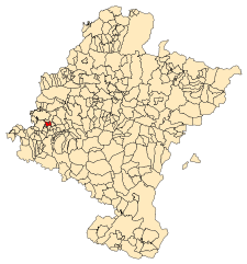 Navarra - Mapa municipal Ancin.svg