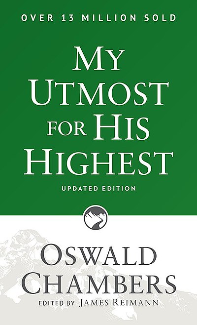 Picture of a book: My Utmost For His Highest