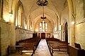 Nef de l'église Saint-Vigor de Soliers. Vue vers l'occident.jpg
