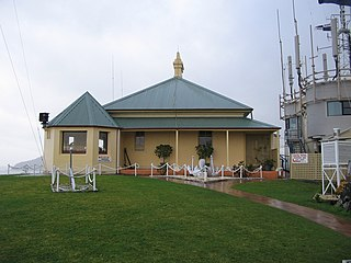 Nelson Head Light lighthouse in New South Wales, Australia