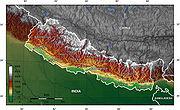 Nepal topo en