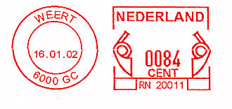 Netherlands stamp type I19.jpg
