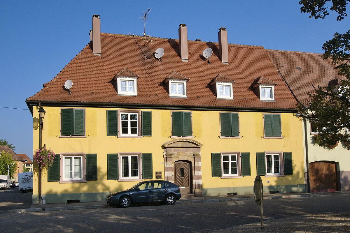 Maison d 39 officiers neuf brisach wikip dia for Maison neuf