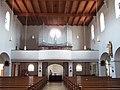 Neufahrn in Niederbayern Kirche Mariä Himmelfahrt Orgelempore.jpg